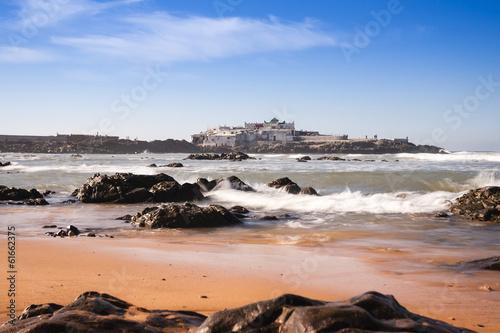 Sidi Abderrahmane rock off Casablanca's Ain Diab coast