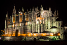 Cathedral Of Palma De Mallorca...