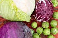 Selection Of Different Fresh C...