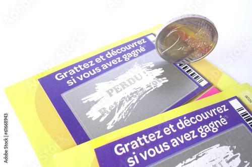 Fotografie, Obraz  jeu de grattage