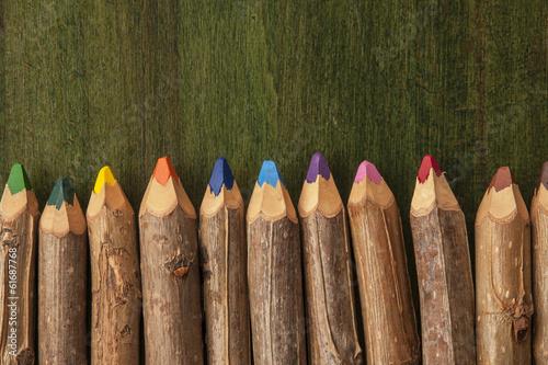 Fotografia  Matite colorate