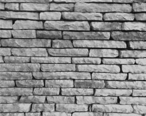 Fototapeta Struktura ściany Monochrome stone wall