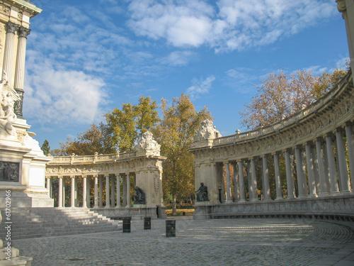 Staande foto Athene Monumento ad Alfoso XII 2