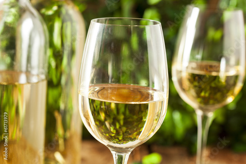 Refreshring White Wine in a Glass