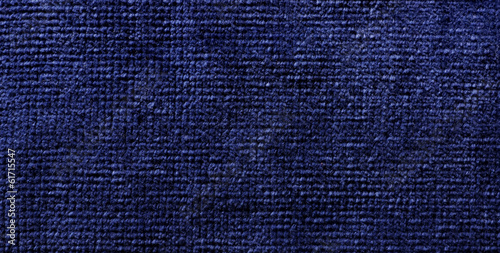 Fotografie, Obraz  blue fiber material towel
