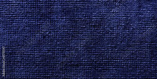 Fotografering  blue fiber material towel