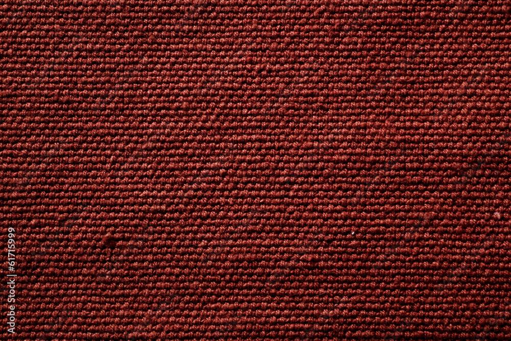 Fototapeta maroon fiber material towel texture