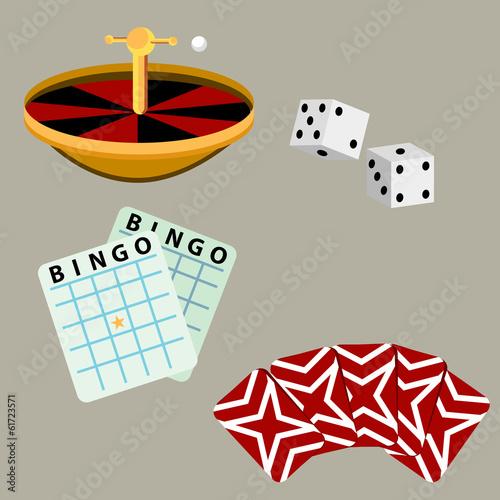 Gambling Casino Games плакат