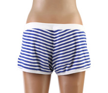 Woman's Beach Shorts On Mannequin.