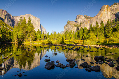 Photo sur Toile Miel Yosemite