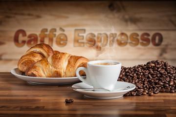 Panel Szklany Do kawiarni espresso eccellente
