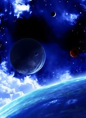 Fototapeta kosmiczny widok