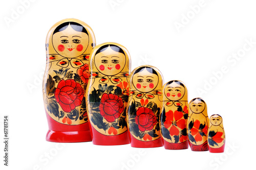 Photographie russian doll