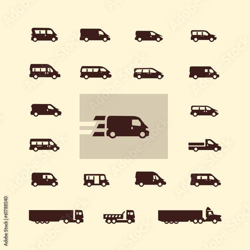 Fotografie, Obraz  Transportation. Vector format