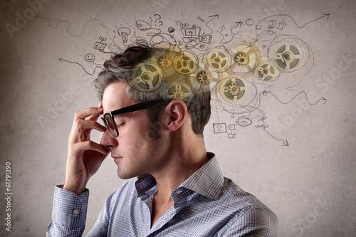 Obraz thoughts - fototapety do salonu