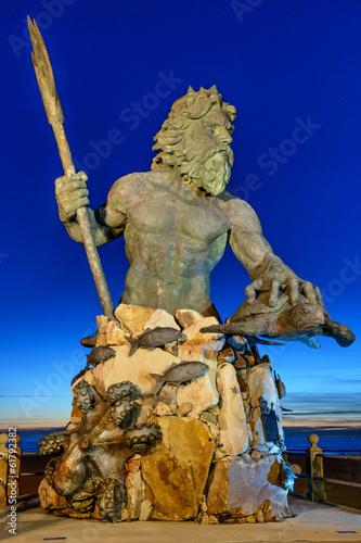 Fotografie, Obraz  Král Neptun v Neptune Park, Virginia Beach
