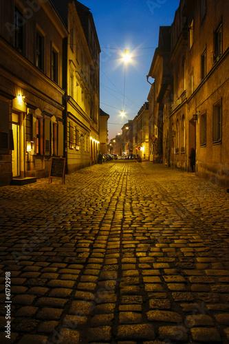 Kazimierz, former jewish quarter of Krakow: Szeroka Street © agneskantaruk