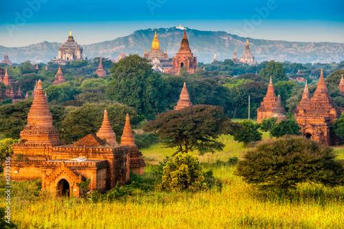 Bagan, Myanmar. Wallpaper Mural