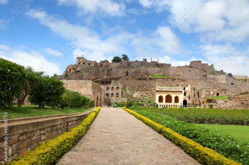 Golkonda fort, Hyderabad Wallpaper Mural