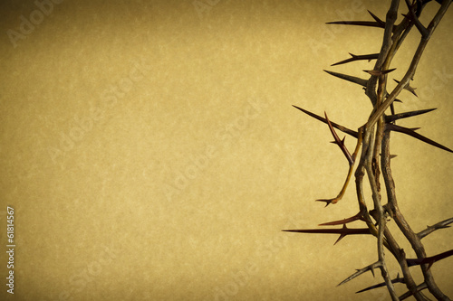 Fotografía  Crown Of Thorns Represents Jesus Crucifixion on Good Friday