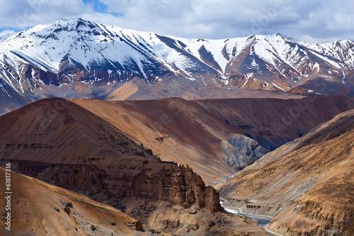 Foto op Aluminium Aubergine Himalaya mountain landscape in Ladakh, India