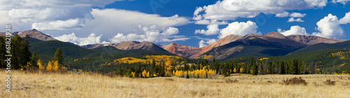 Fototapeta Colorado Rocky Mountains in Fall obraz