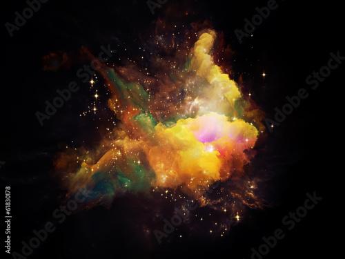 Fototapeta Space Nebula obraz na płótnie