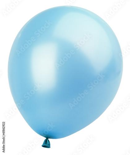 Staande foto Ballon Blue balloon