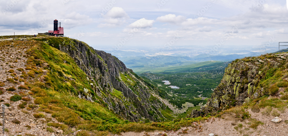 Fototapety, obrazy: Sniezne Kotly valley in Karkonosze mountains, Poland