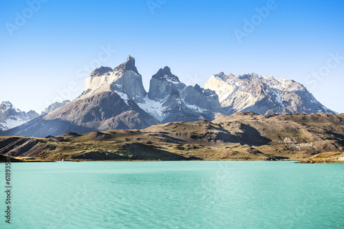 Fotografie, Obraz  National Park Torres del Paine, Chile.
