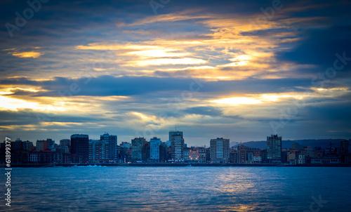 Foto op Aluminium New York city beach landscape