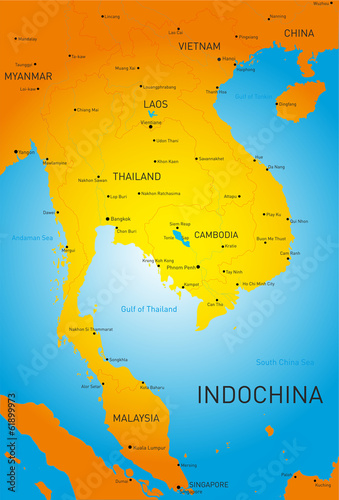 Fotografie, Obraz  Indochina