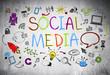 Colourful Social Media Sketch
