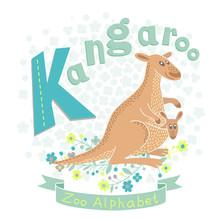Letter K - Kangaroo