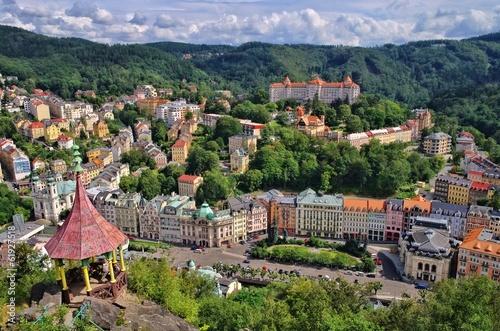 Karlovy Vary Aussicht Hirschsprung - Karlovy Vary Deer Jump 03