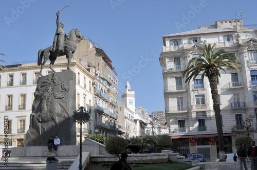 Alger - place Emir Abdelkader