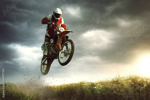 Photo  Moto cross