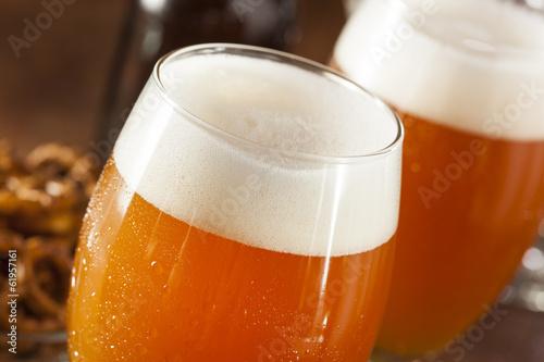 Fotografie, Obraz  Osvěžující belgický Amber Ale Beer