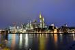 Frankfurt am Main, Hochhäuser, Skyline, Banken, Main