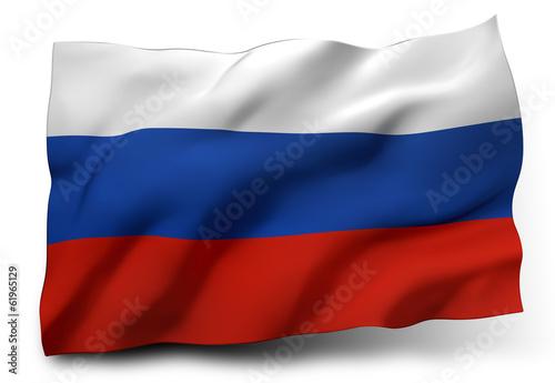 Obraz flag of Russia - fototapety do salonu