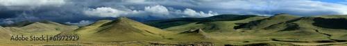 Fotografia, Obraz  Regenzeit in der mongolischen Steppe