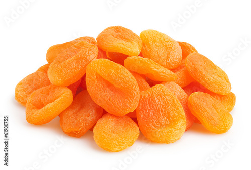 Photo dried apricots