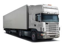 White Truck Scania