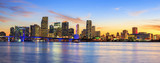 Panoramic sunset, Miami - 62019361