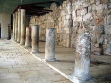 Ancient Roman Cardo Street.  Jerusalem