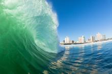 Wave Hollow Crashing Swimming ...