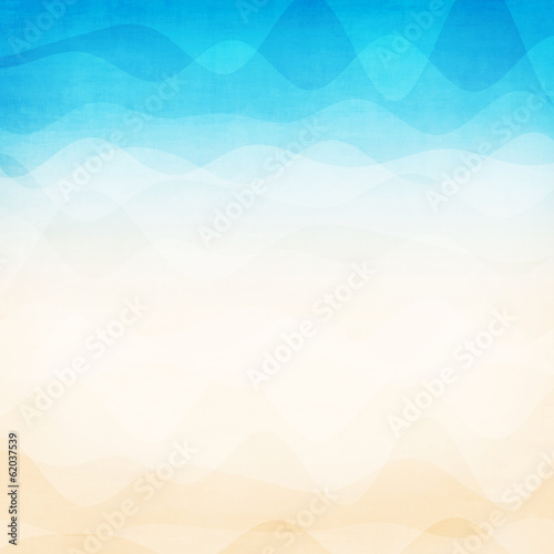 Wall mural - Abstract colorful wave background