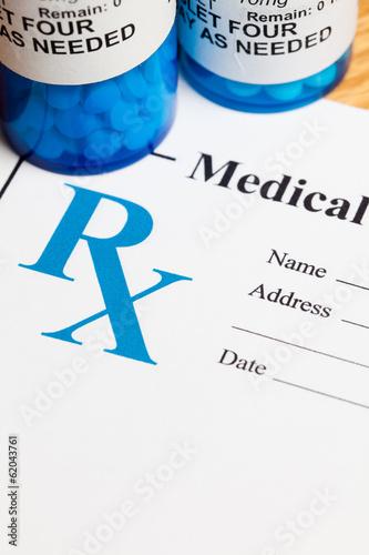 Fotografia  Prescription Medicine