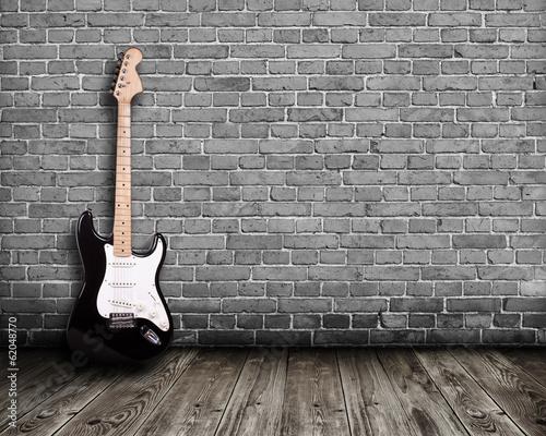 gitara-elektryczna-w-pokoju