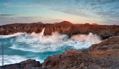 Photo sur Aluminium Iles Canaries Lanzarote